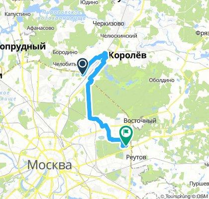 Зимняя велодоставка в Мытищи 15 декабря 2018