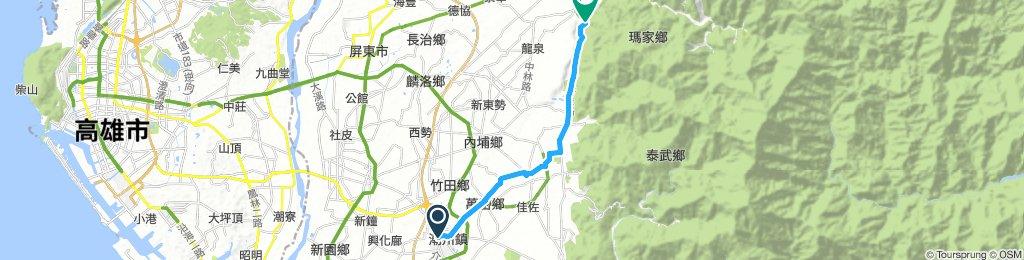 潮州奇遇旅宿-涼山遊憩區