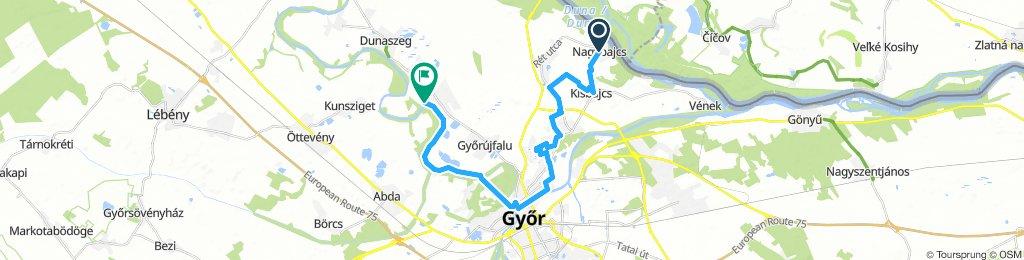 Nagybajcs-Győrrzámoly(YÉ)
