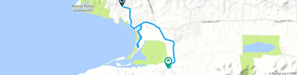 incomplete route in Cabo Rojo