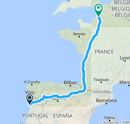 Q / Porto to Dieppe