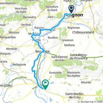 Arles - Avignon