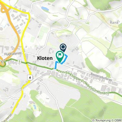 Kloten - route 5