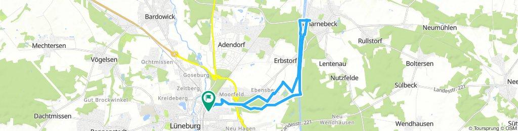 Lüneburg- Scharnebeck und zurück
