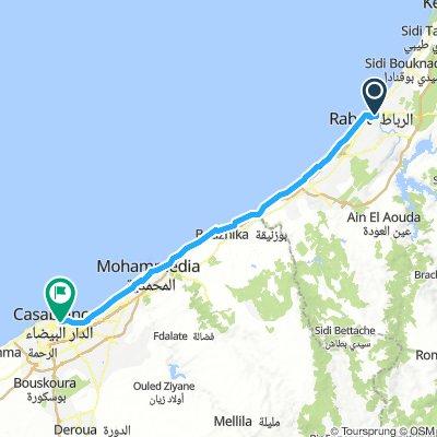 Rabat - Casablanca Day 9