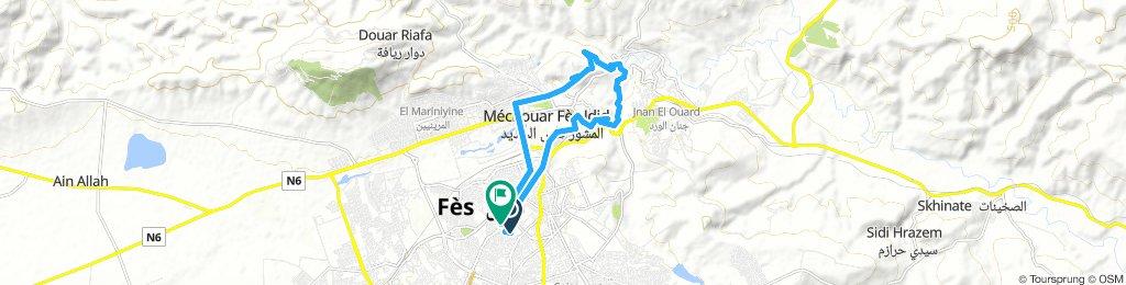 Zwiedzanie Fez