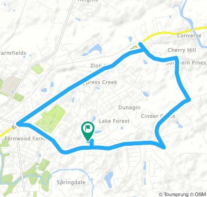 a long route