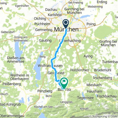 Ruta 1: Munich - Bad Tölz