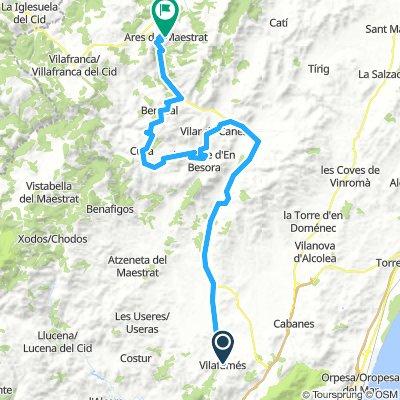 Day 7 - Ride 6 - Vilafamés to Ares del Maestral