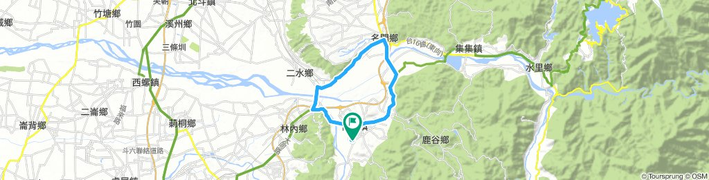 竹山-林內-二水-名間