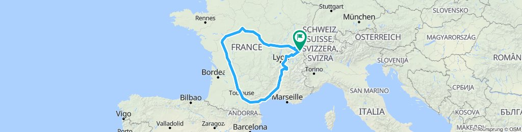 Tour de France des Abattoirs dédiés au Chevraux