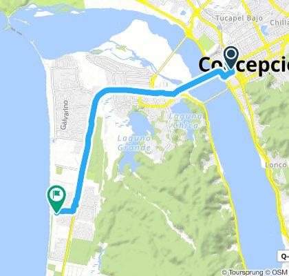Moderate route in San Pedro de la Paz