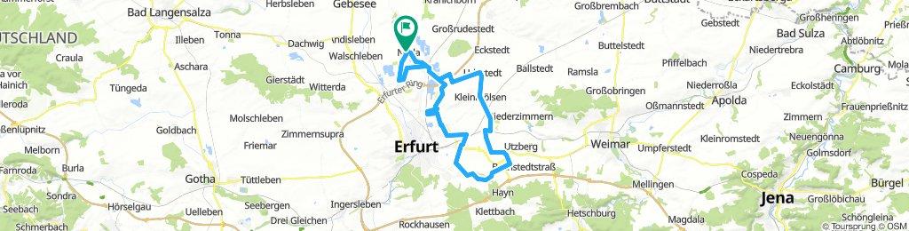 Nöda - Ringelberg - Obernissa - Vieselbach - Nöda