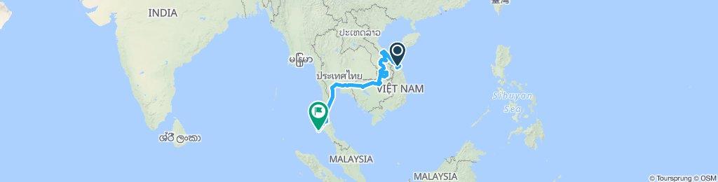 Wietnam - Laos - Kambodża - Tajlandia
