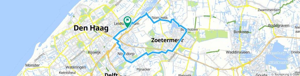 Ldam-Benthuizen-Zoetermeer-Nootdorp-Ldam 35 km