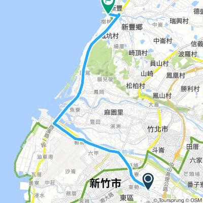 風城單車-新豐紅樹林公園