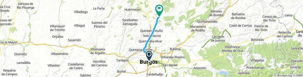 Camino Natural Santander-Mediterráneo hasta Peñahorada