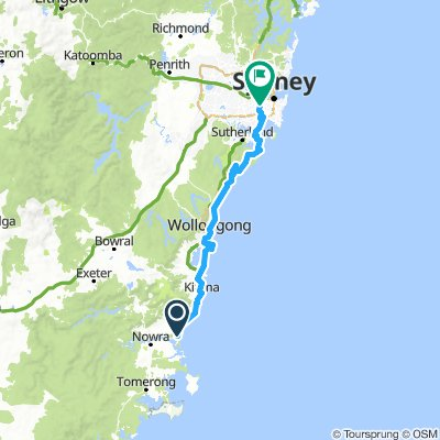 Nowra - Sydney by 2FTP