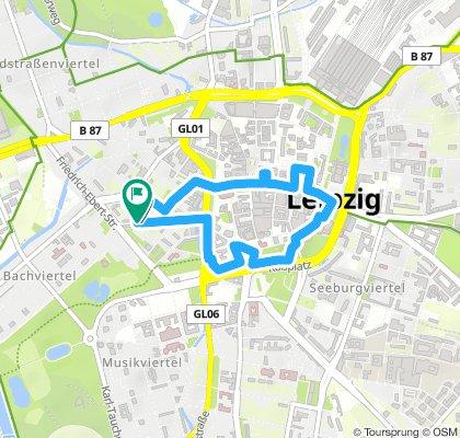 Light pollution tour Leipzig 2019