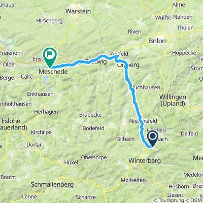 1. Tag Ruhrtalweg