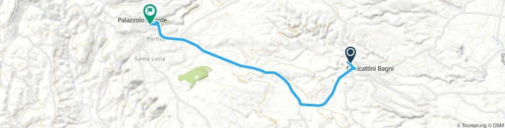 bike tour from Canicattini Bagni to Palazzolo Acreide