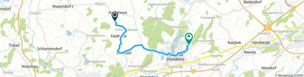 Bahrenhof Radfahren
