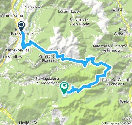 Brixen-Würzjoch-Geisleralm