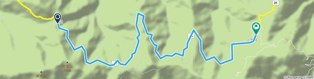 特富野古道-東埔山莊