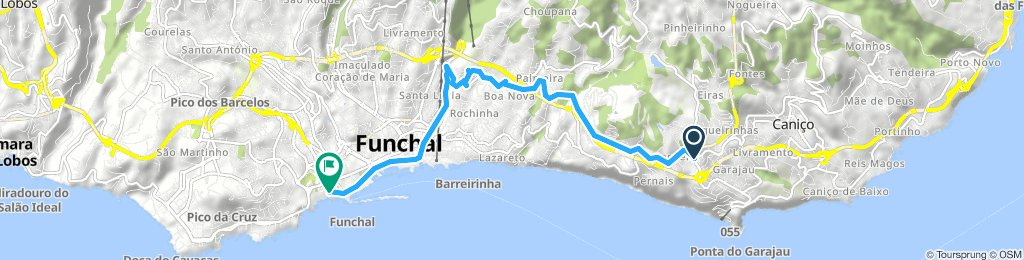 Steady ride in Funchal