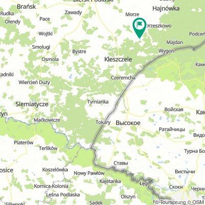 Nowy Pawłów - Gnojno - Dubicze Cerkiewne | Wyprawa nad Morze - dzień 5 | Green Velo