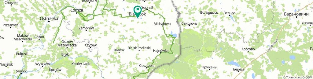 Dubicze Cerkiewne - Hajnówka - Białowieża - Białystok | Wyprawa nad Morze - dzień 6 | Green Velo