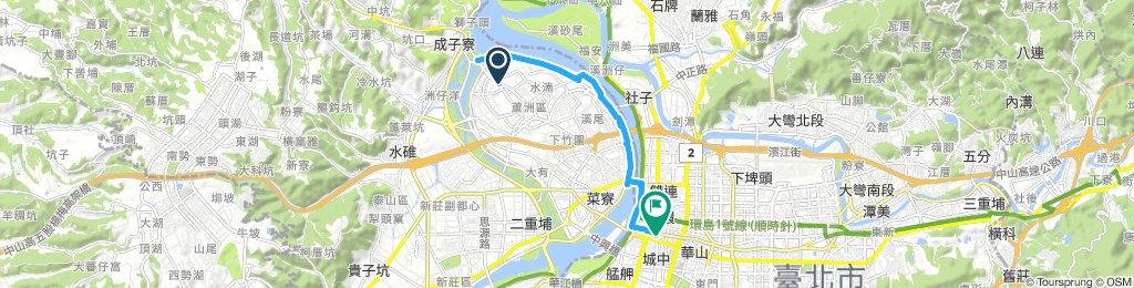 蘆洲站到台北火車站