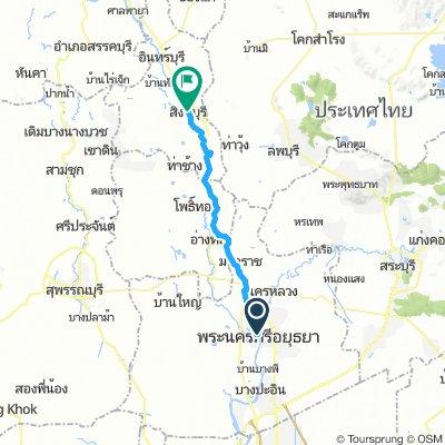 Ayutthaya to Sing buri