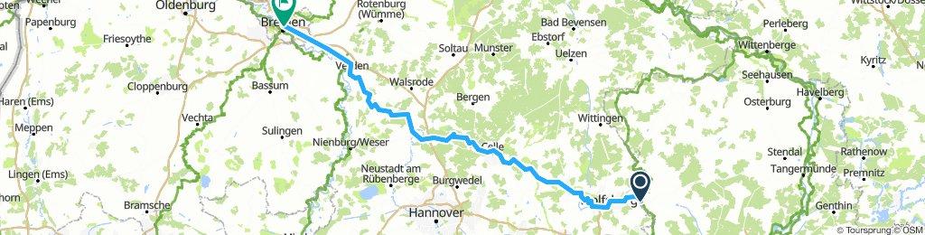 Obisfelde - Bremen (Aller)