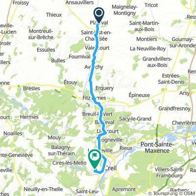 Saint-Just-en-Chaussée Cycling