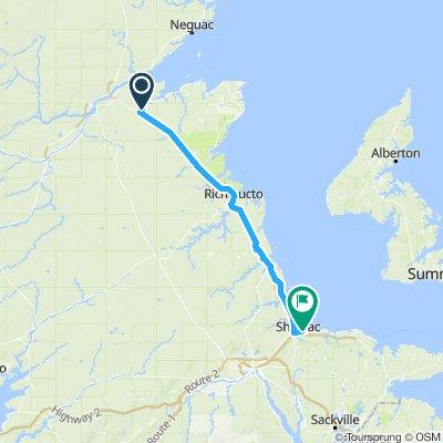 1090300 9of12 NB - 03 Black River Bridge, NB to Shédiac, NB (South Cove Camping and Golf) 115km