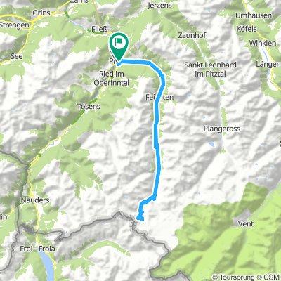 The Kaunertal Glacier Road