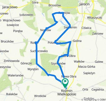 XII Koźmiński Maraton Rowerowy - Dystans Towarzyski/Rekreacyjny