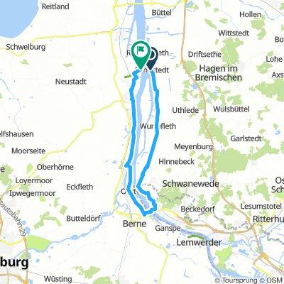 Sandstedt - Bremen U-Boot-Bunker