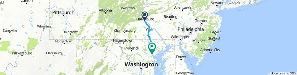Harrisburg - Baltimore