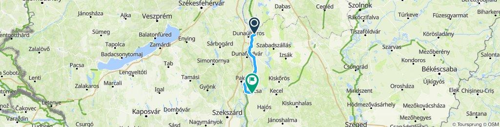 Szalkszentmárton, Hongrie / Kalocsa, Hongrie