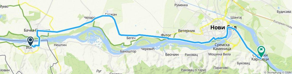 Ilok, croatie /Sremski Karlovci, Serbie du 13 au 14