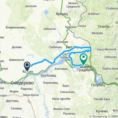 Kovin, Serbie / Divici, Roumanie du 17 au 18