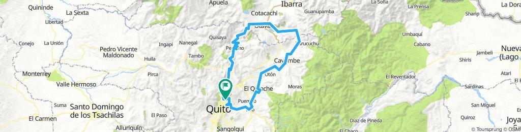 Brevet 2 Tatoo 19 -Vuelta a Zuleta 230K-