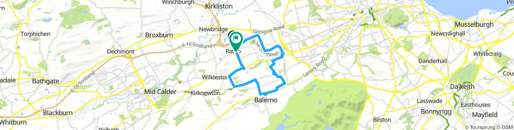 Balerno route