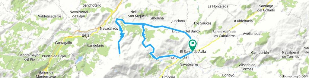 El Barco - Becedas - La Hoya - La Covatilla - Becedas - El Tremedal - El Barco
