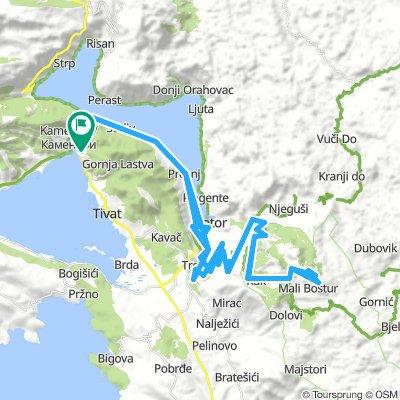 Montenegro Kerékpártúra