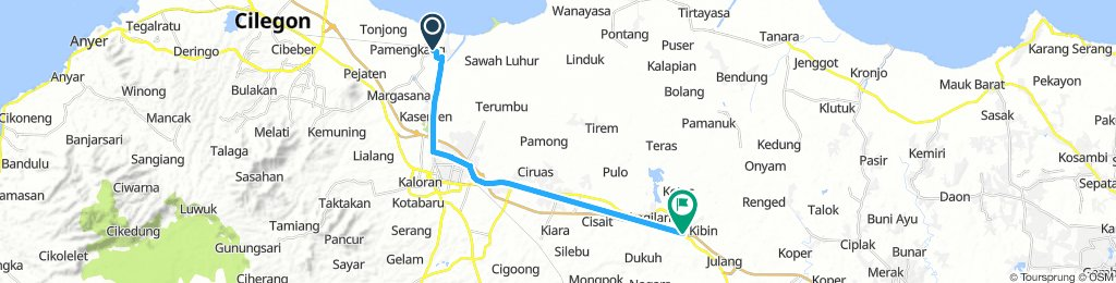 gowes to banten
