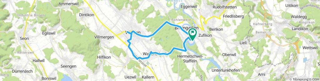 Rundfahrt Bremgarten - Wohlen