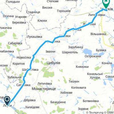 Leukhy, Ukraine Zhashkiv, Ukraine